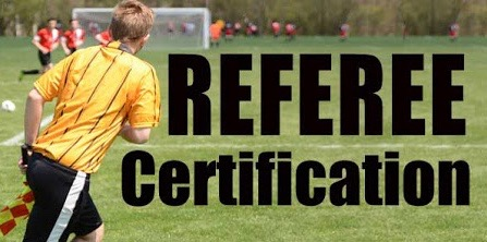 Referee Info – ages 14 +